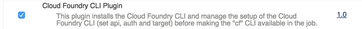 cloudfoundry plugin install